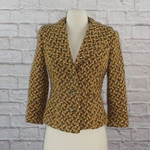 David Meister Wool Tweed Blazer 2
